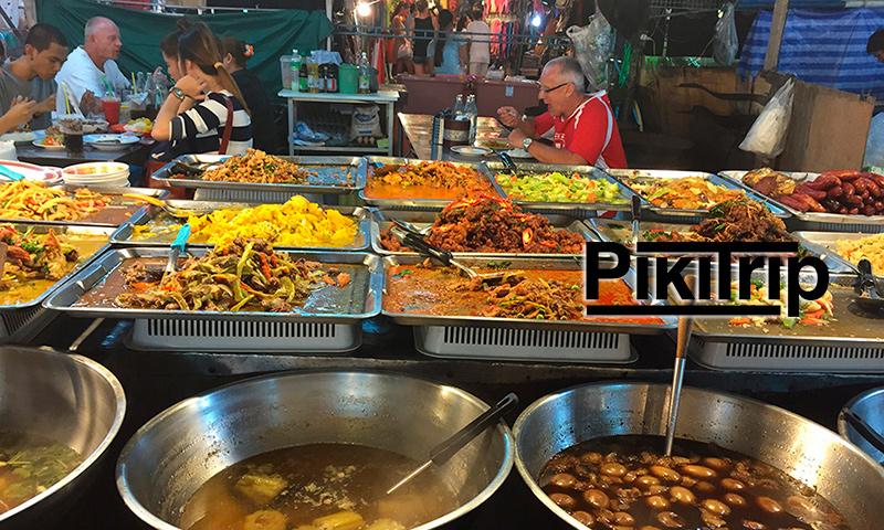 ночной рынок в Паттайе - Тепразит найт маркет