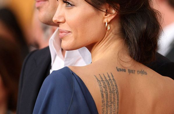 Самый известный Сак Янт в мире у Анджелины Джоли