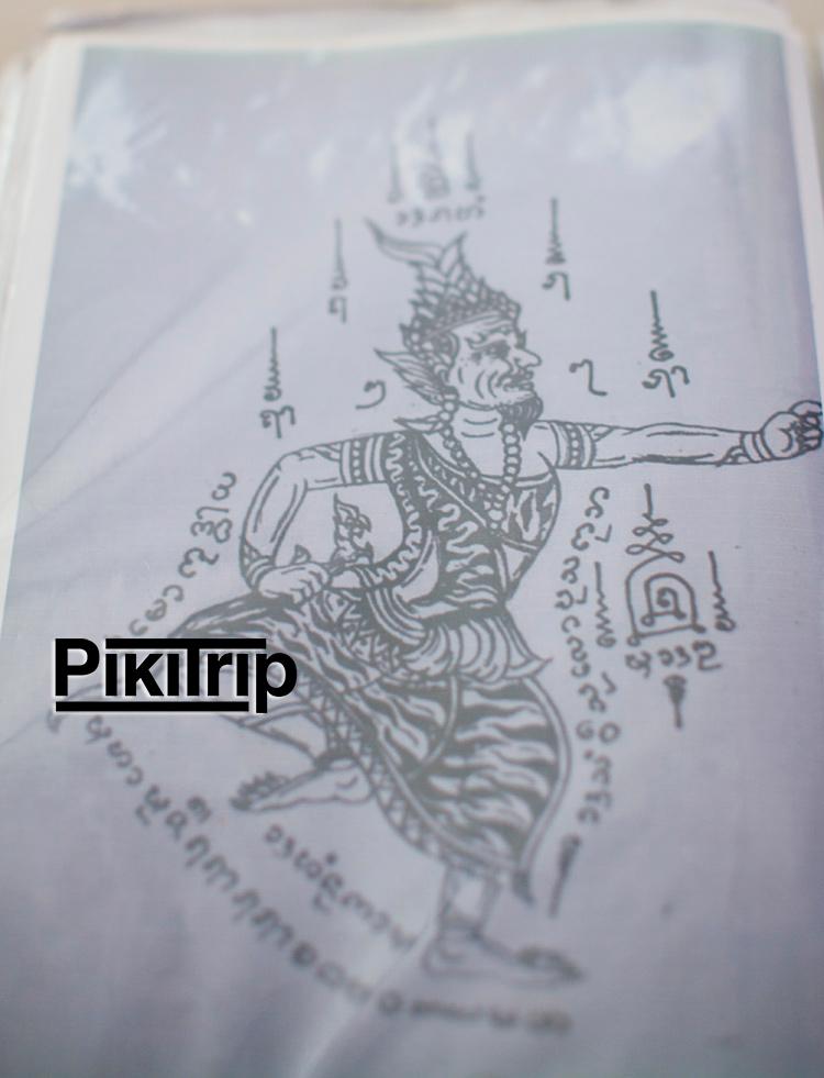 Основатель татуировок Сак Янт