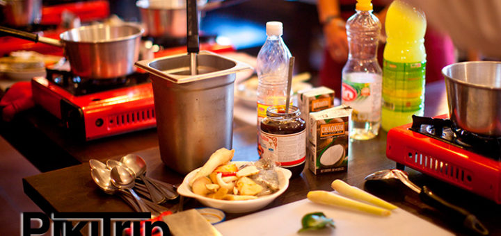 кулинарные курсы тайской еды в Паттайе аройсмак