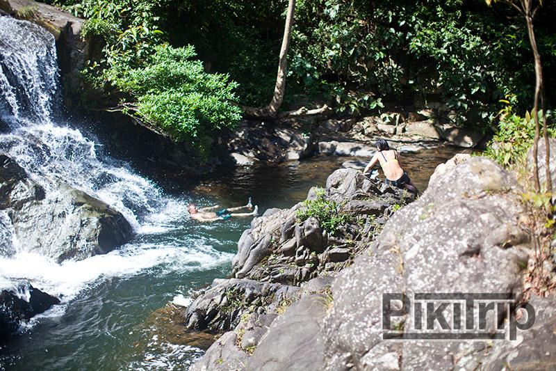 купание-водопад