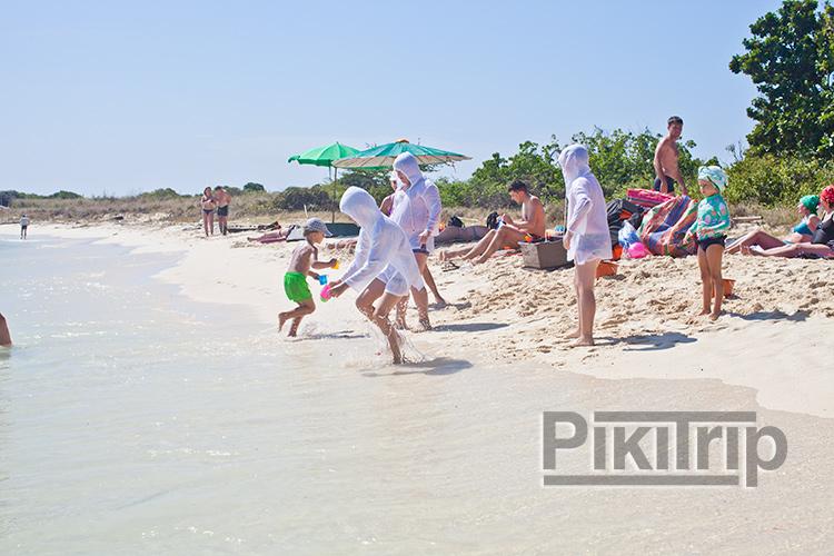 конкурсы для детей на пляже