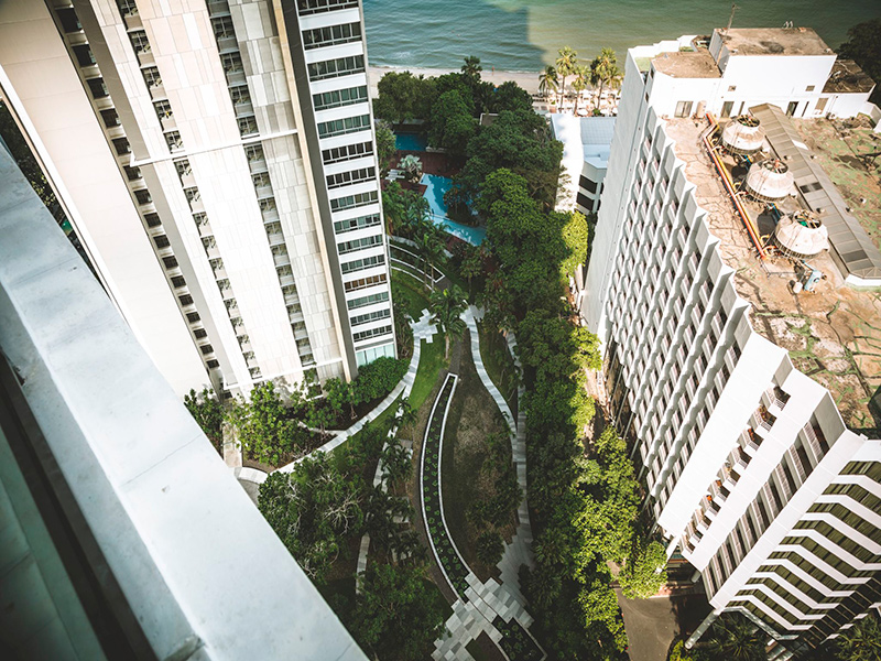 виллы и апартаменты в Паттайе