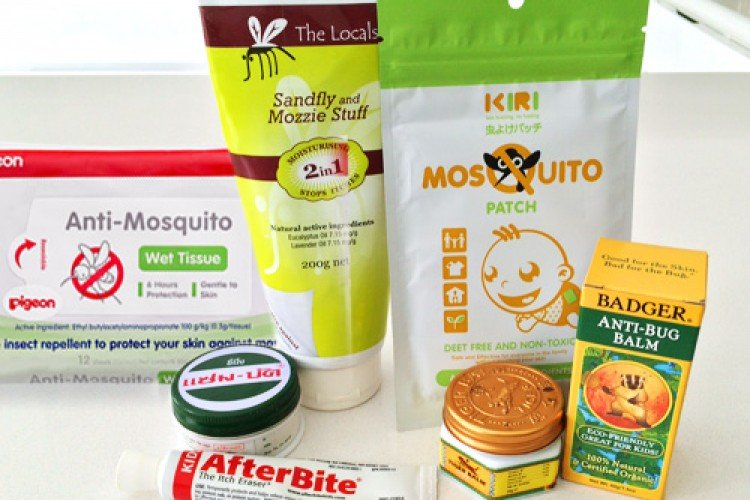 средства от комаров для детей и взрослых в Таиланде