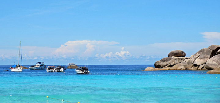 Туристам запретят ночевать на острове Симилан