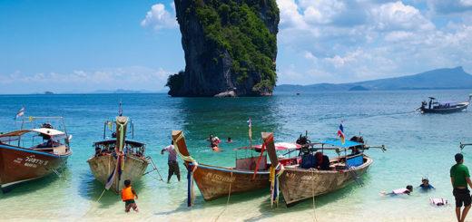 Краби вошел в топ 5 самых популярных курортов Таиланда