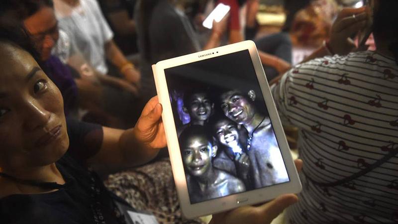 нашли детей в пещере таиланда