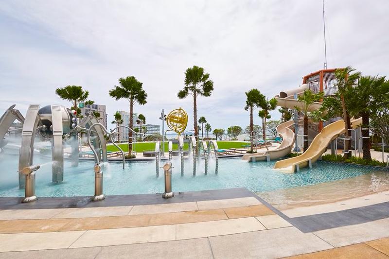 аквапарк при отеле терминал 21