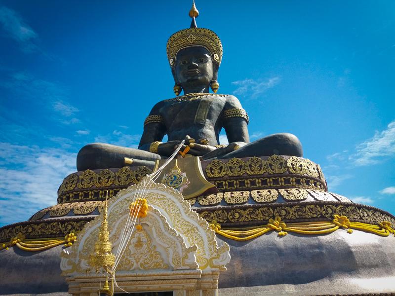 Единственный чернокожий Будда в Таиланде