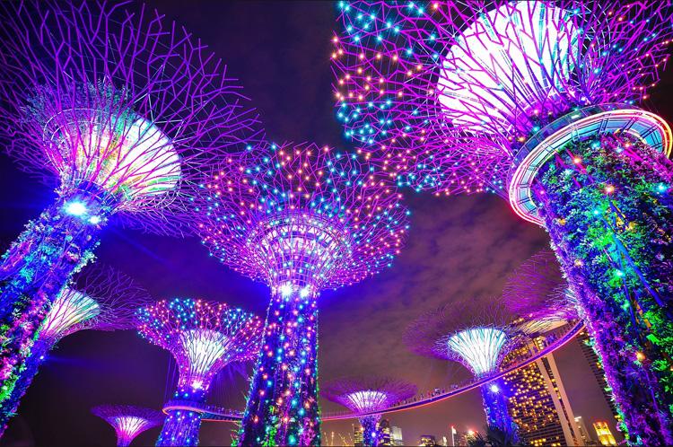 Сингапур-сады Аватара