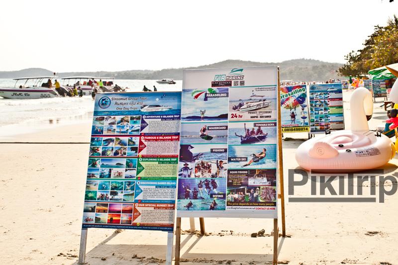 развлечения и цены на экскурсии на Самете