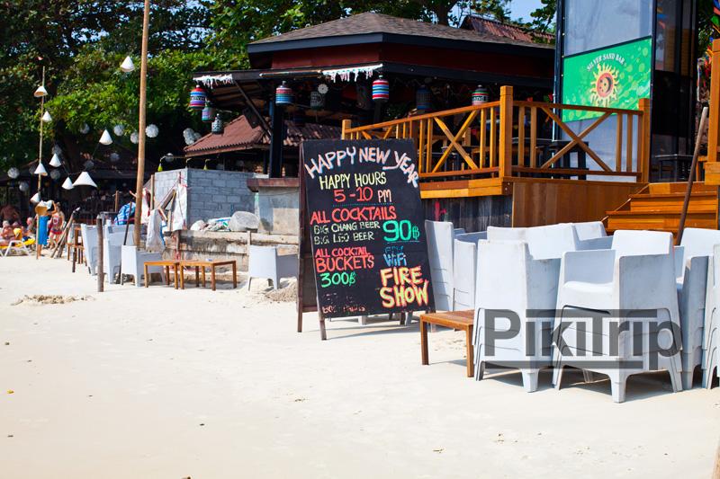 кафе и рестораны на берегу острова Самет