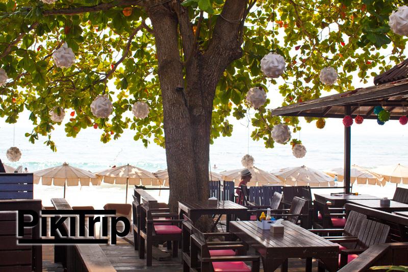 ресторан на берегу отеля Сильвер сенд