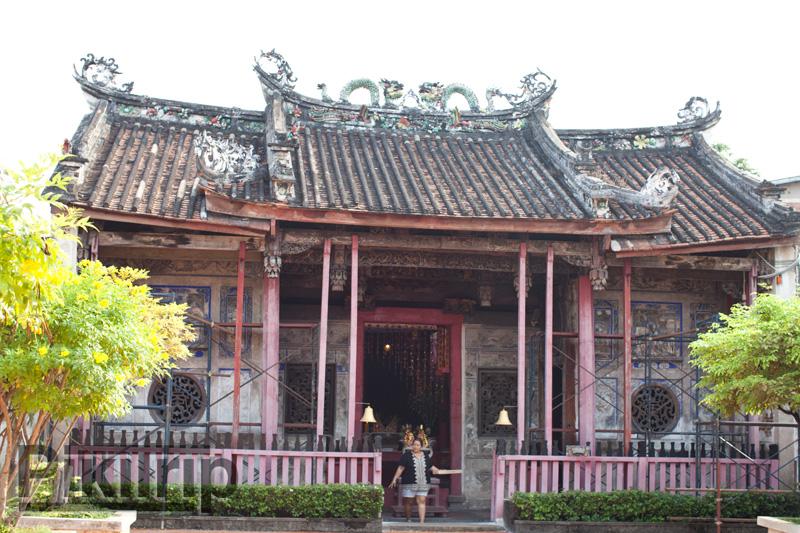древний китайский храм