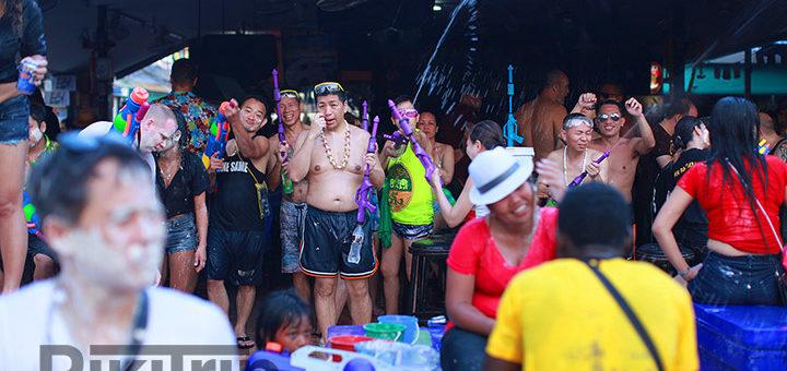 тайский новый год 2019 в паттайе
