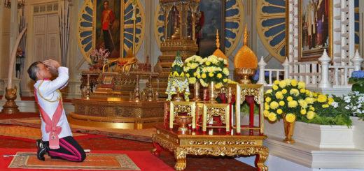 Коронация в Таиланде 2019