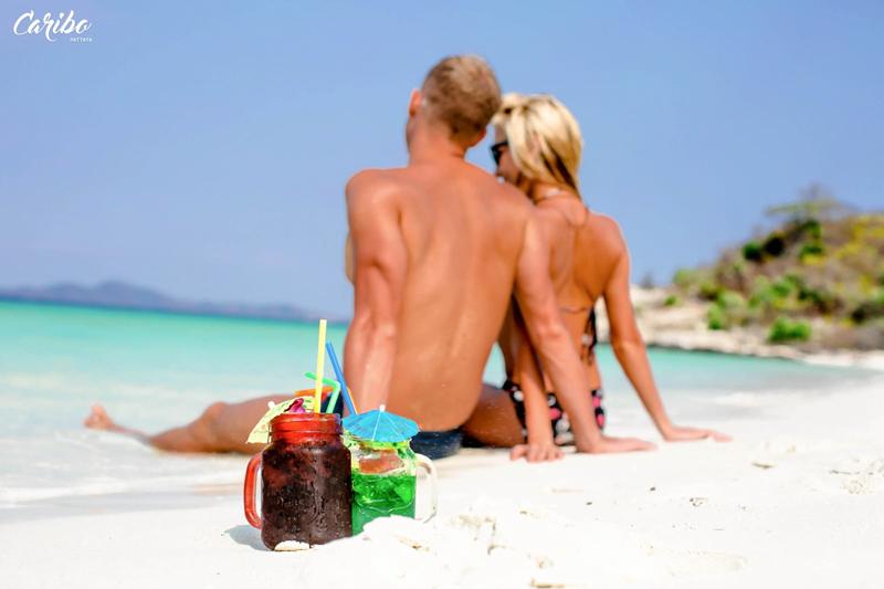 тропический коктейль на Карибо