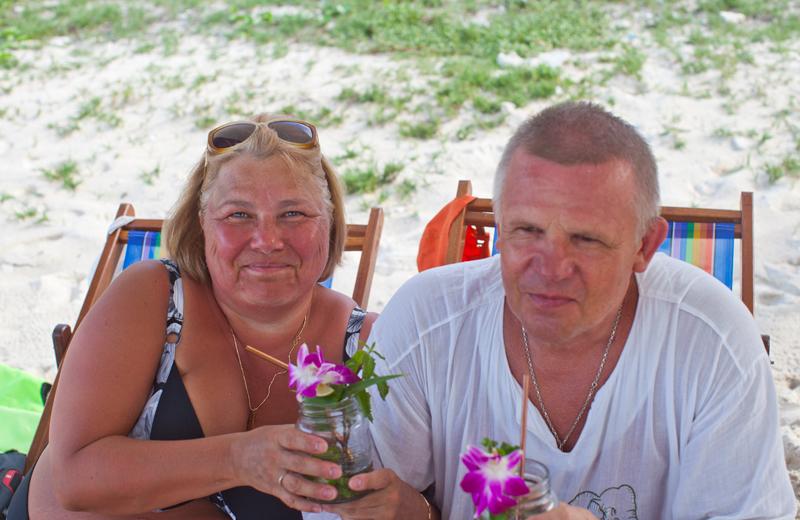 мои читатели на экскурсии Ольга и Александр