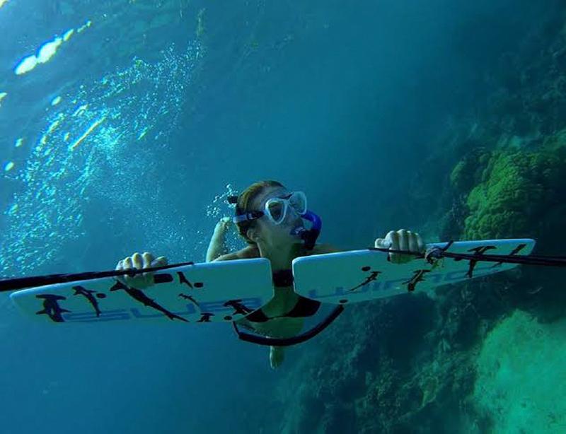 Подводное управляемое крыло