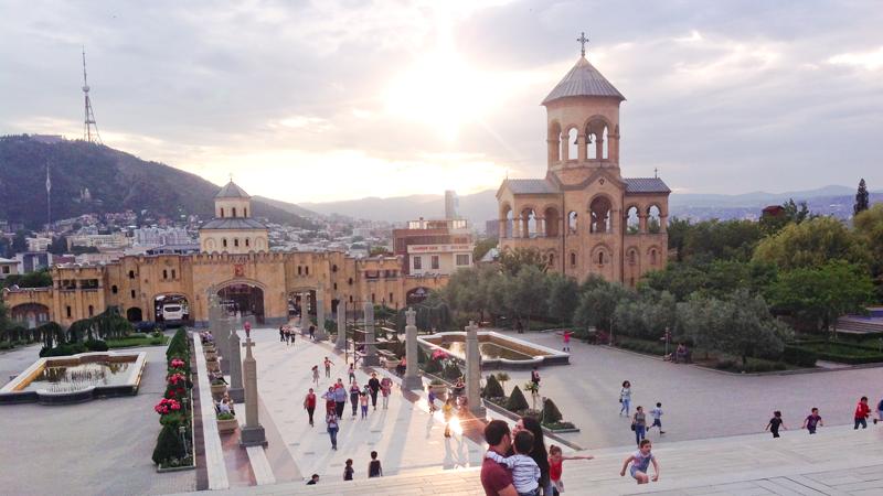Тбилиси: Троицкая церковь