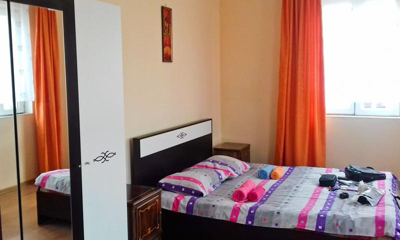 наша комната в квартире в Батуми