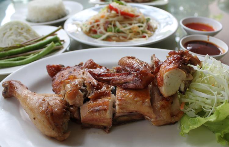 Гай янг курица гриль тайская