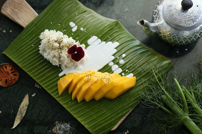 липкий рис с манго као нияо мамуанг