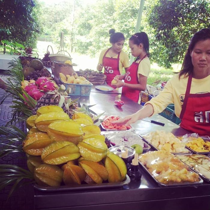 фрукты Таиланда на ферме