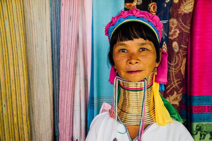 Таиланд племя карен