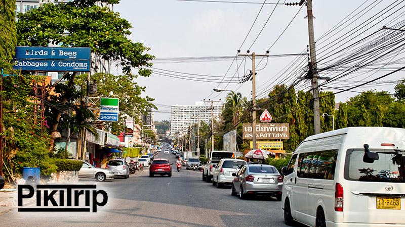 улица ведущая к пляжу