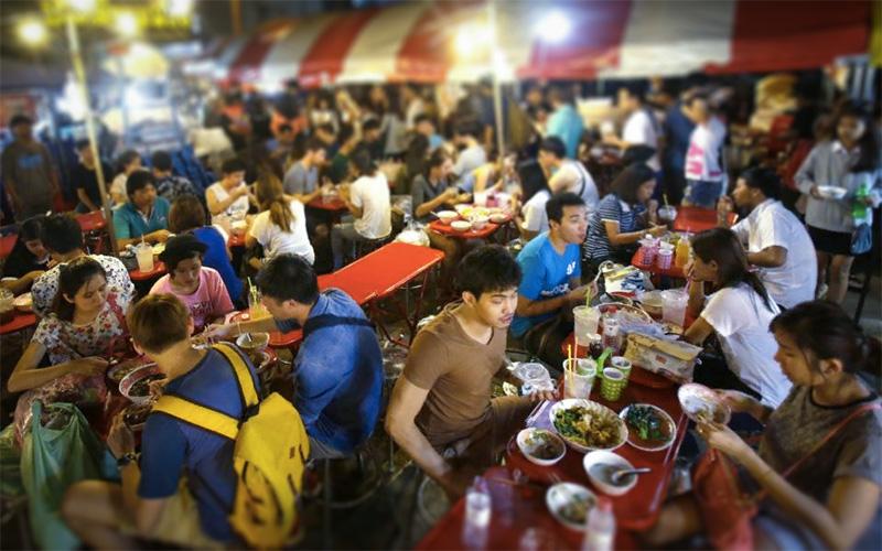 Уличная еда в Тййланде