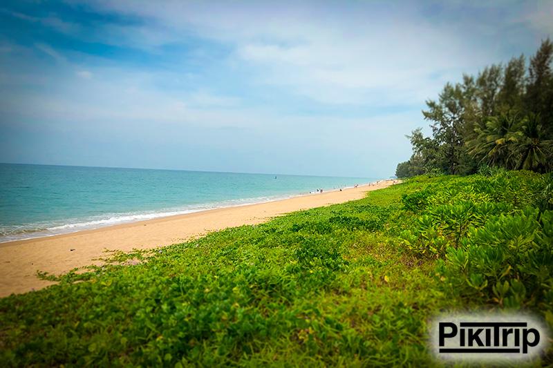 пляж Май Кхао Пхукет