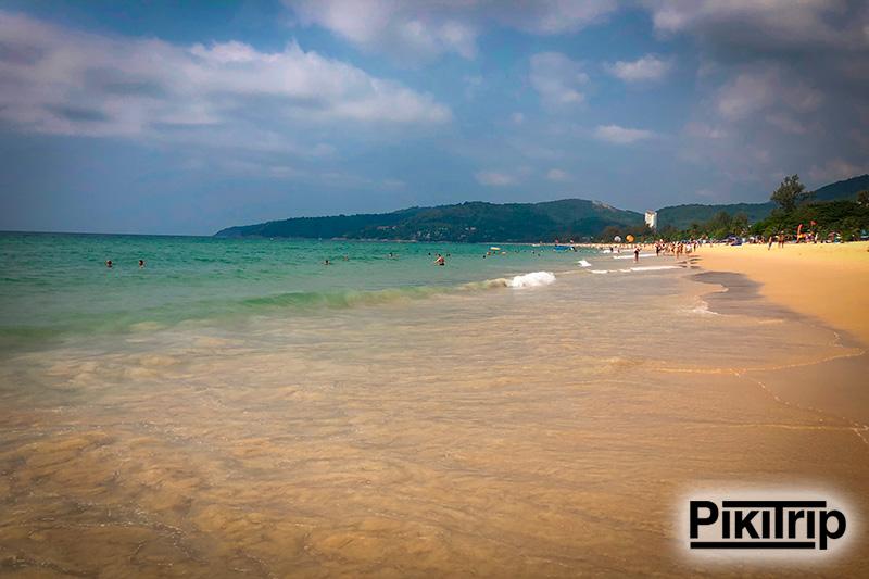пляж Карон середина