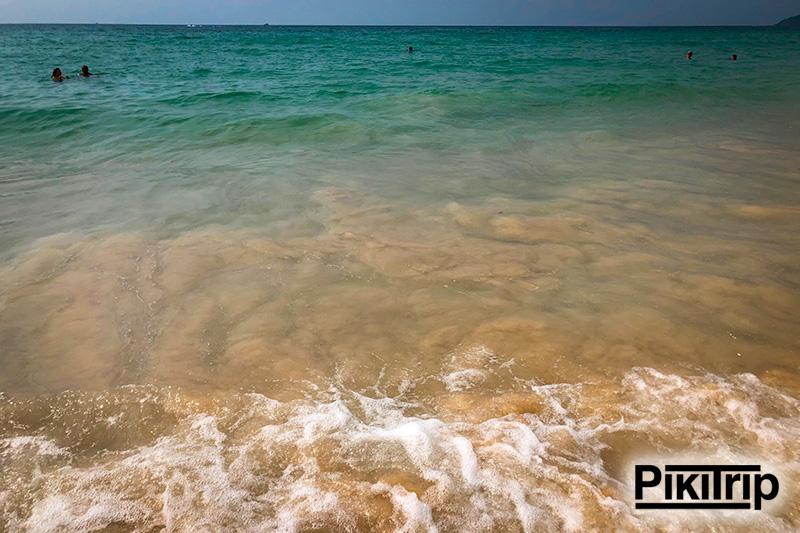 пляж Карон море