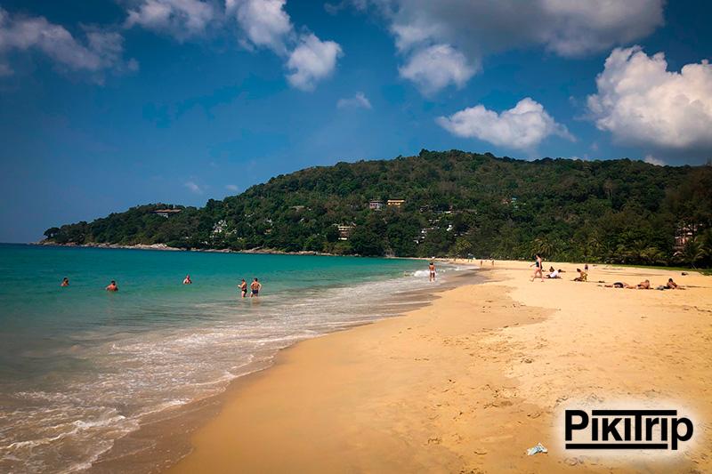 пляж Карон фото