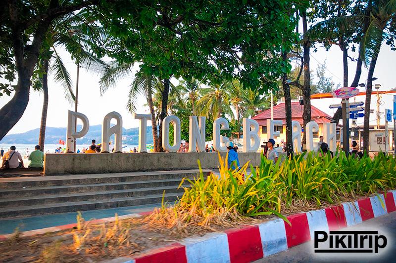 пляж Патонг Бич