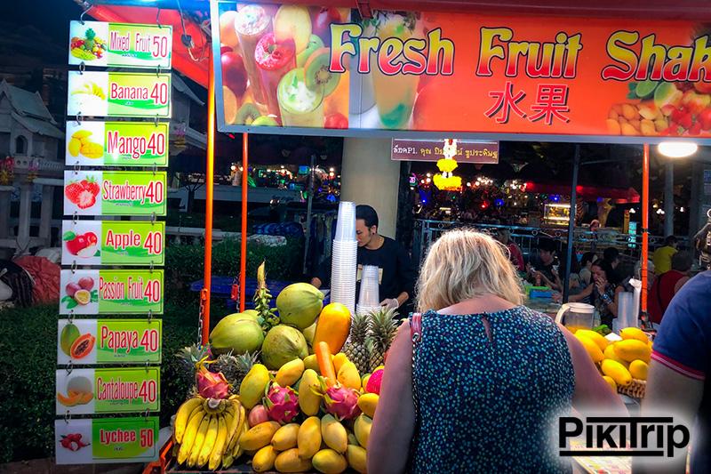 фруктовые шейки 40 бат