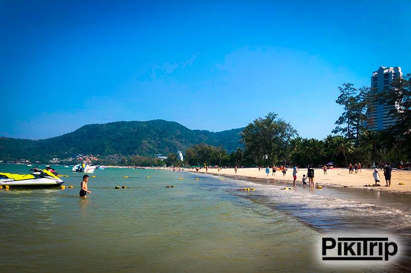 Пляж Патонг Бич Пхукет